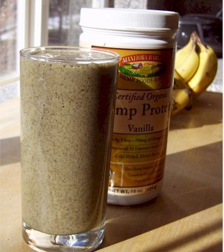Vanilla Hemp Protein Powder - Dairy-Free, Soy-Free, and Vegan
